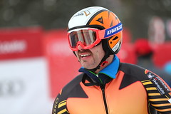Jan Hudec participates in a free ski in Lake Louise, CAN