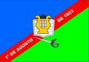 Bandeira da cidade de Caxias - MA