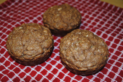 banana cream cheese oat muffins (3)