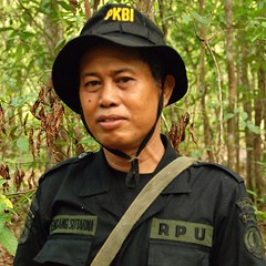 Even though they spend their lives protecting Sumatran rhinos, members of IRF's Rhino Protection Units (RPUs) rarely get to lay eyes on the elusive creature whose precarious future lies in their hands. So far this year in Way Kambas National Park in Indon