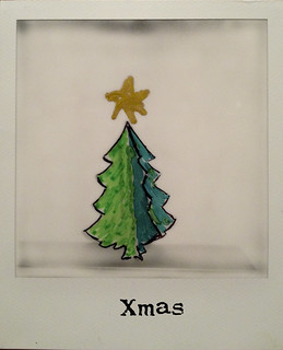 Polaroid Xmas Tree