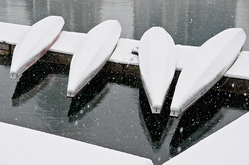 Snow Dragon Boats by petetaylor