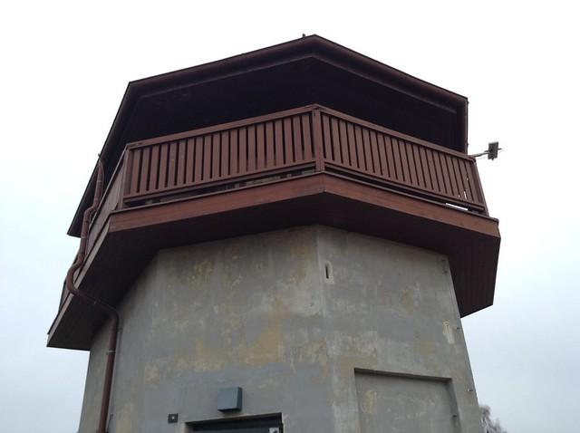 Караульная башня в конлагере под Берлином