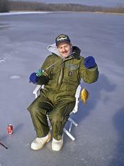 Me ice fishing on high lake monon738 tags lake fish ice for Ice fishing indiana