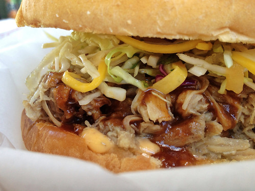 South Pacific Grill - Kalua Pork Sandwich