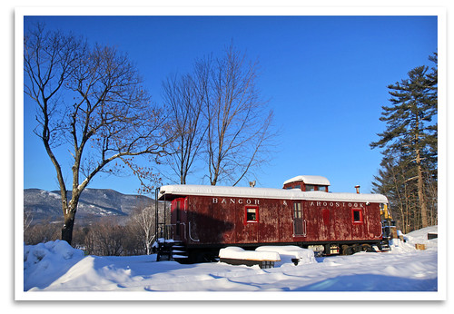 winter yard newengland nh caboose rollingstock northconway conwayscenicrailroad steaminthesnow massachusettsbayrailroadenthusiasts