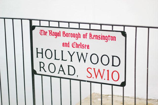 hollywood road London
