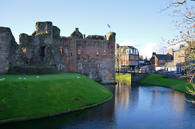 Rothesay Castle, Rothesay, Isle of Bute, Scotland