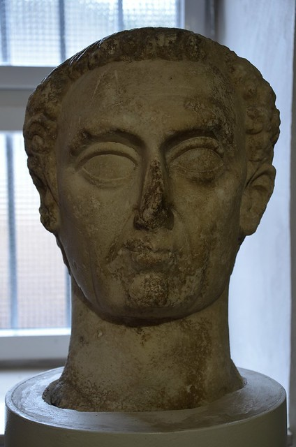 Portrait of Nerva (30–98 AD), Nin, Croatia