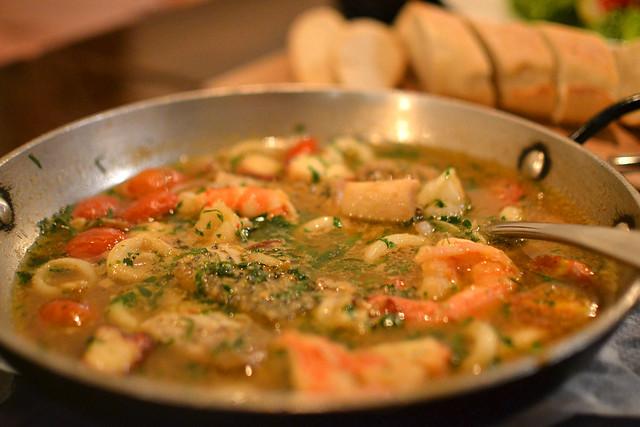 Brodetto di pesce in casseruola, Oca Grassa