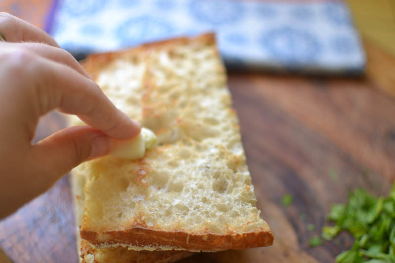 Chicken Puttanesca Sandwich via LittleFerraroKitchen.com