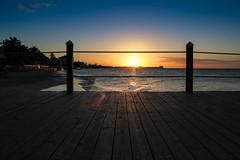 Coucher de soleil sur le quai - Sandals Royal Bahamian - Nassau, Bahamas (Explored)
