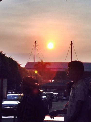 sunset urban nature beautiful great loveit photooftheday picofday busystreet