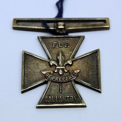 Boy Scout Silver Medal for Gallantry