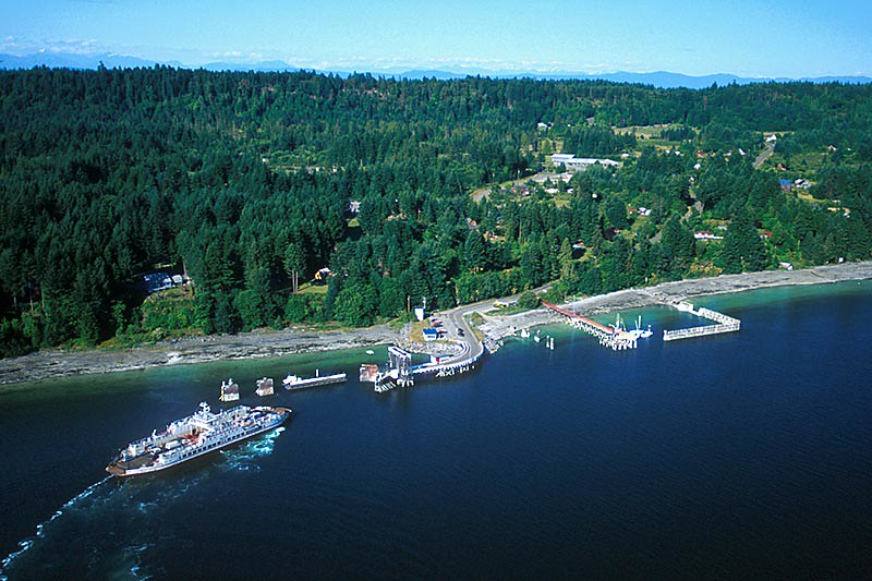 Denman Island, Gulf Islands, Georgia Strait, British Columbia, Canada