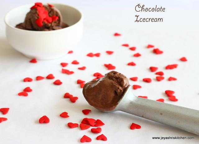 Chocolate -ice cream