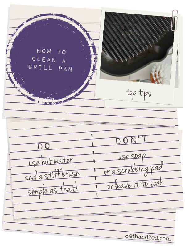 How to Clean a Grill Pan (in one simple step)