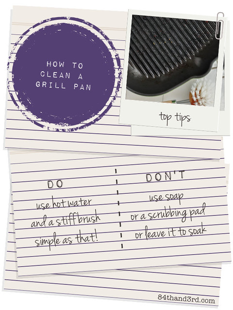 how to clean a grill pan in one simple step flickr photo sharing. Black Bedroom Furniture Sets. Home Design Ideas