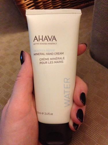 Ahava Deadsea Minerals Hand Cream
