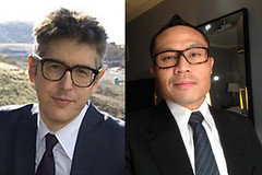ira glass and rik : separated at birth?