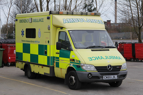 Yorkshire Ambulance Service Mercedes Sprinter Emergency Ambulance