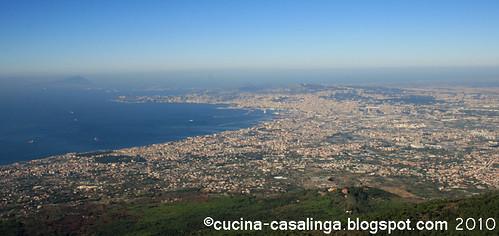 Vesuv Neapel Sicht