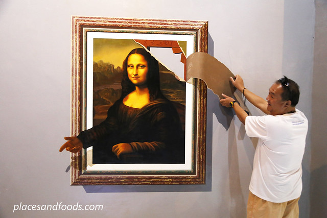 magic eye 3d museum mona lisa