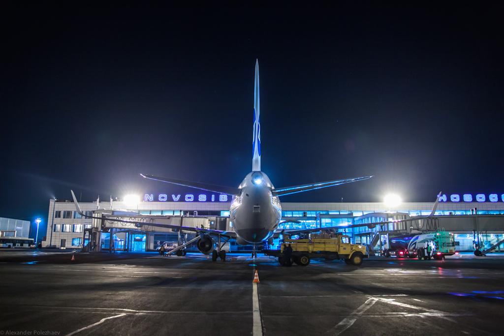 UTair Airbus A321 в Толмачёво