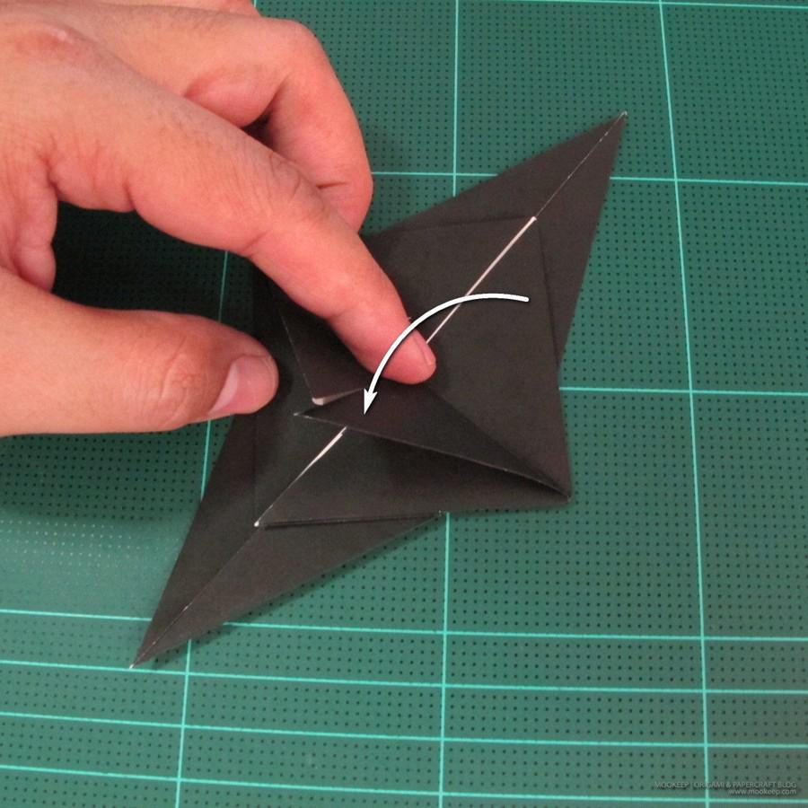 วิธีการพับกระดาษเป็นรูปจิงโจ้ (Origami Kangaroo) 002
