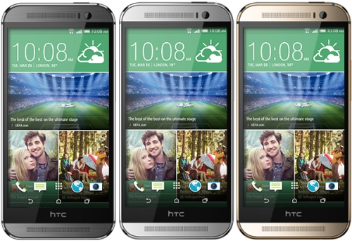 HTC One M8 - Colours