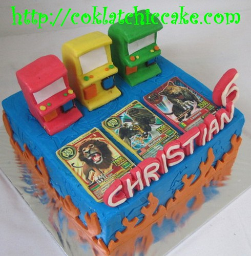 Kue ulang tahun animal kaiser