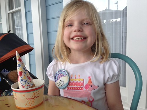 Birthday Girl at Beaches and Cream