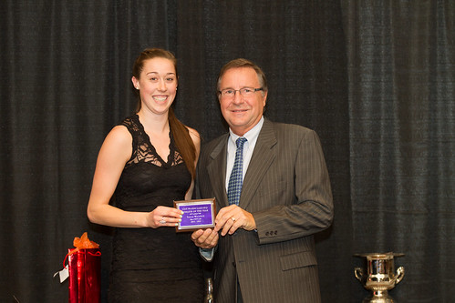 Taiysa Worsfold and Cliff Neufeld (Neufeld Female winner 2013-14 Snucins)
