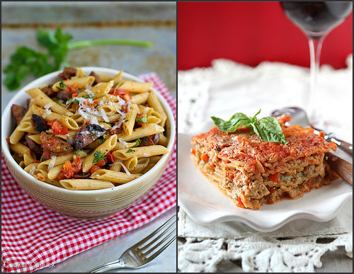 Whole Wheat Pasta Recipes | cookincanuck.com #pasta