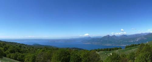 view of the lake from Baito e. Turri
