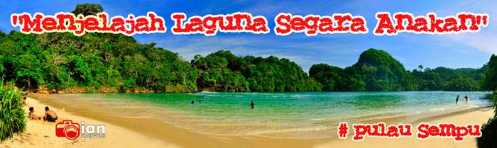 Menjelajah laguna segara anakan pulau Sempu,Malang !
