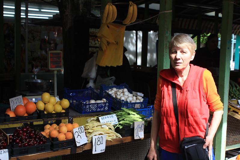 Market in Pazardjik