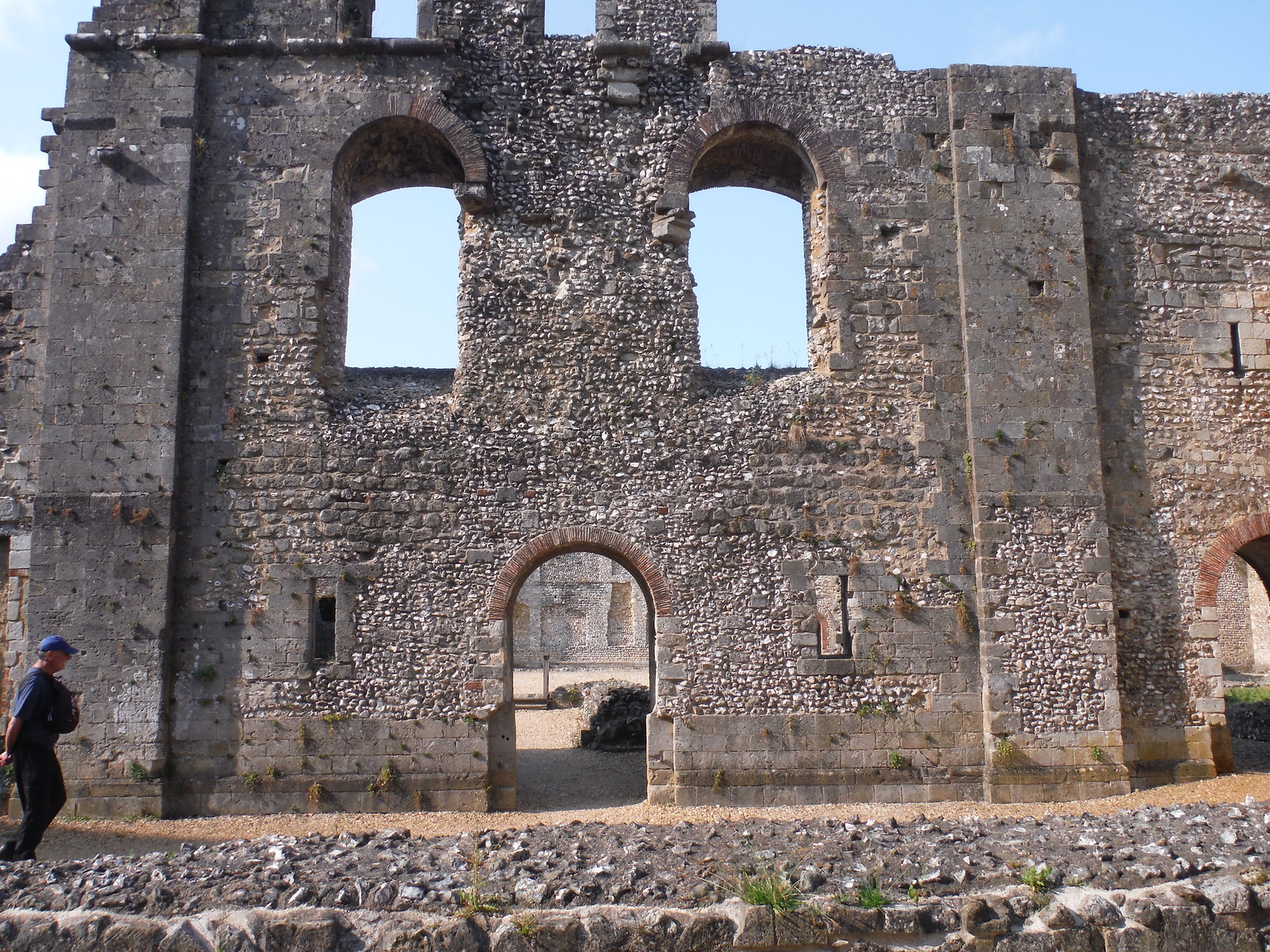 Wolvesey Castle SWC Walk 15 : Winchester Circular