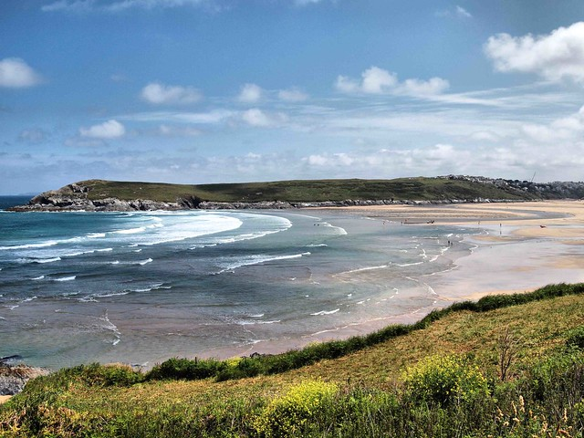 West Pentire Beach Cornwall 263