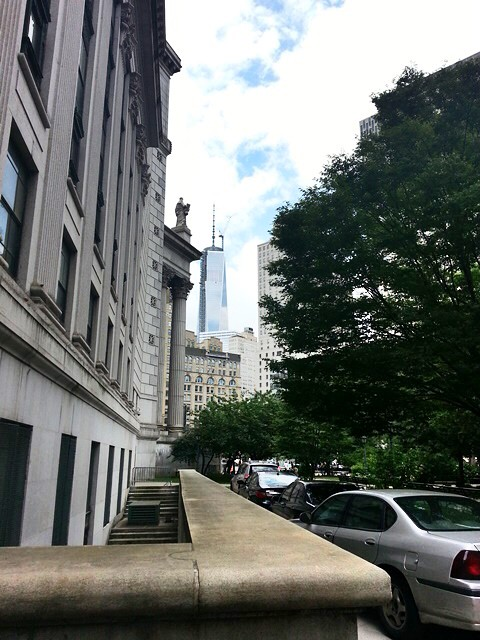 One World Trade Center from federal courthouse, SDNY