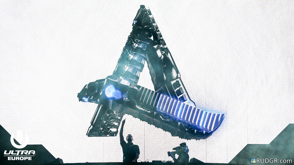Afrojack @ Ultra Europe 2015