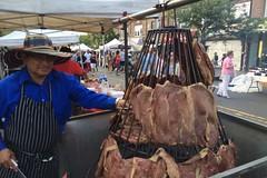 日, 2015-07-26 17:16 - ストリートフェアのアルゼンチン焼肉屋