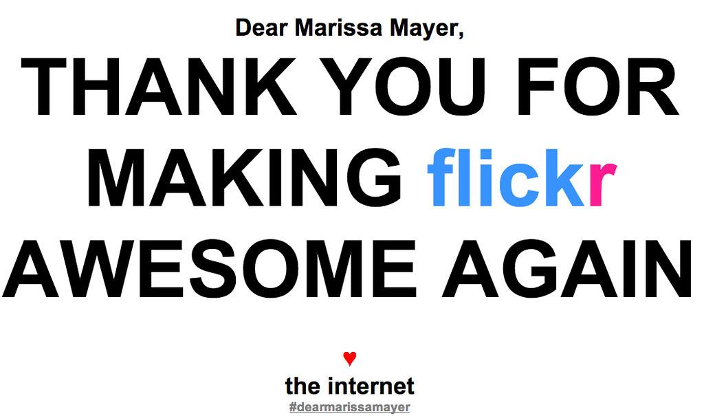 Dear Marissa