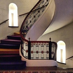 Interior #staircase at the 21c museum hotel.