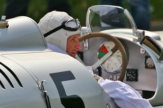 Alan McNish in the Auto Union