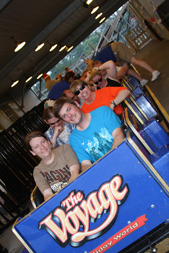 Roller Coaster Club of Great Britain rides Voyage