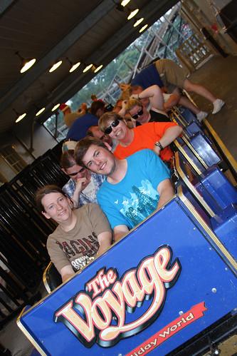 Roller Coaster Club of Great Britain rides Voyage