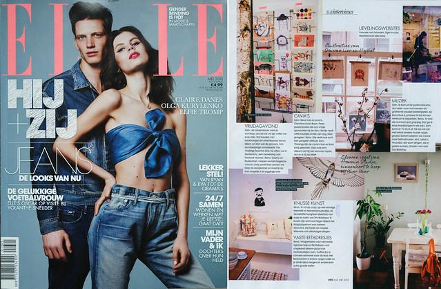 Depeapa in Elle magazine (Holland)