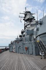 The USS Wisconsin