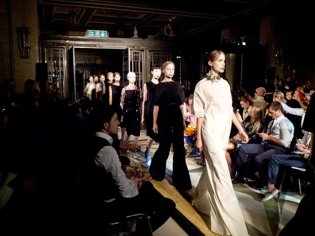 London Fashion Week with TONI&GUY - Phoebe English